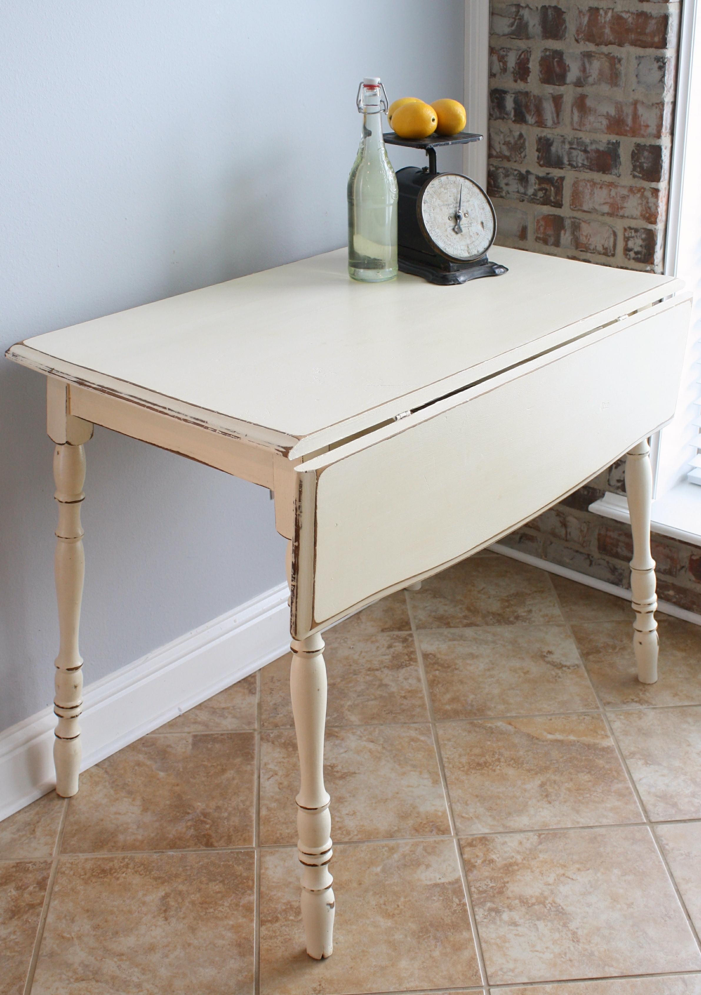Откидной стол в стиле прованс