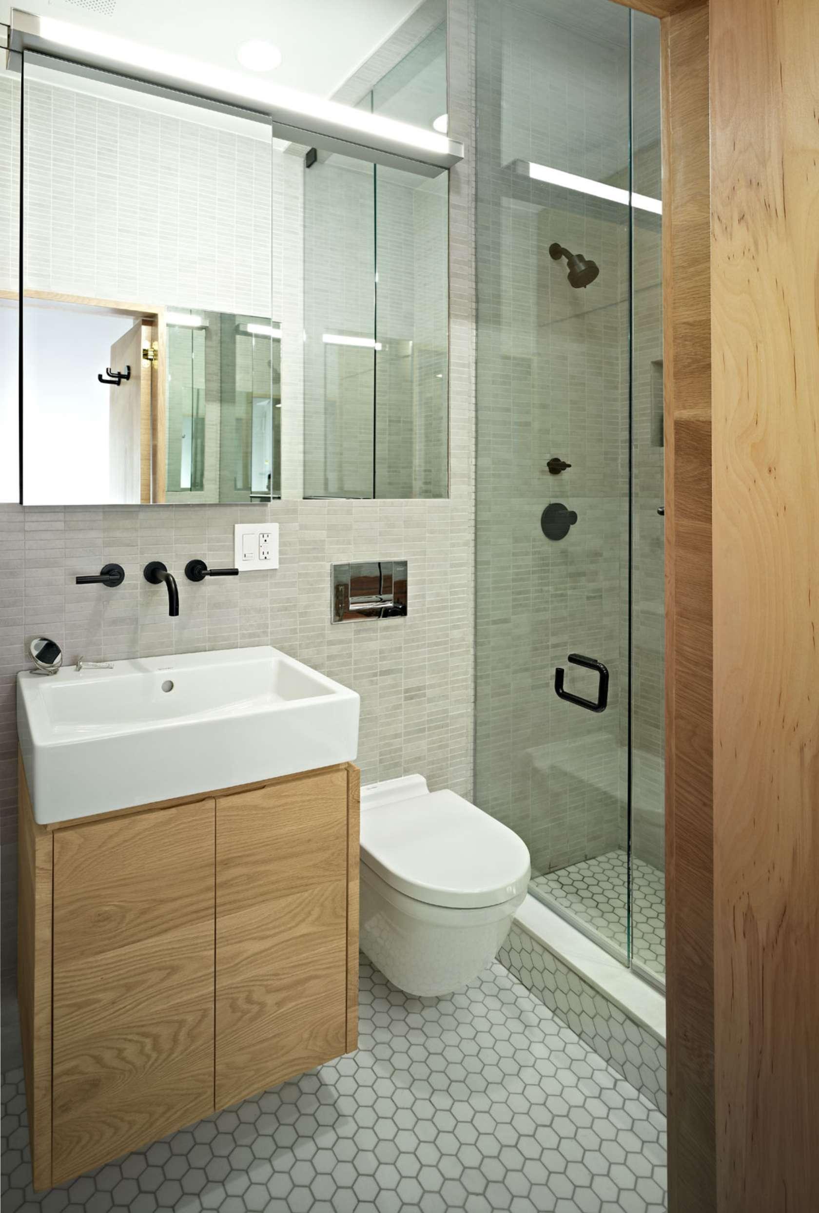 Пенал под раковину в ванной