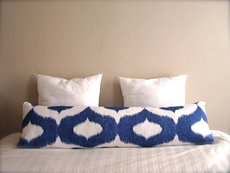 Подушка валик с рисунком