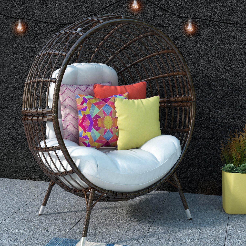 Ротанговое кресло-шар