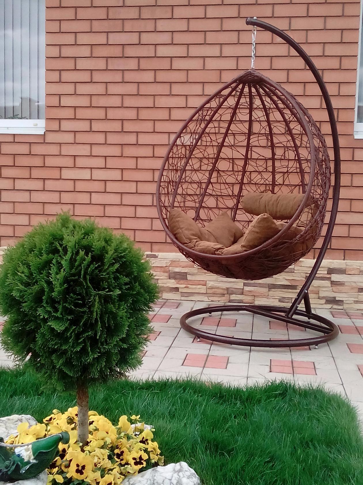 Садовое кресло-шар