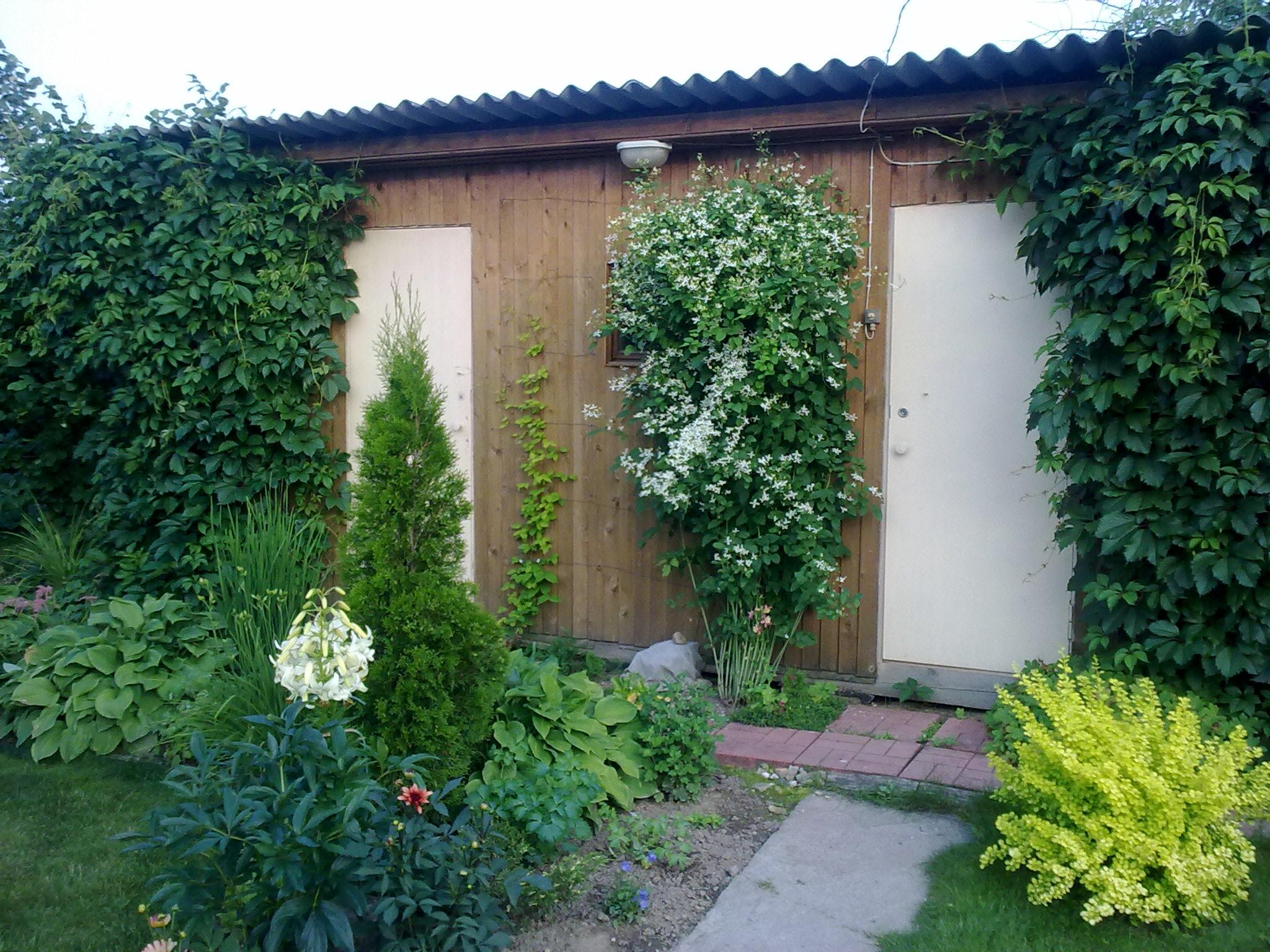 Садовый хозблок
