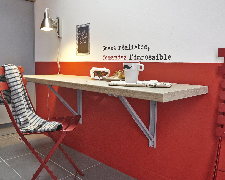 Откидной стол шпонированный
