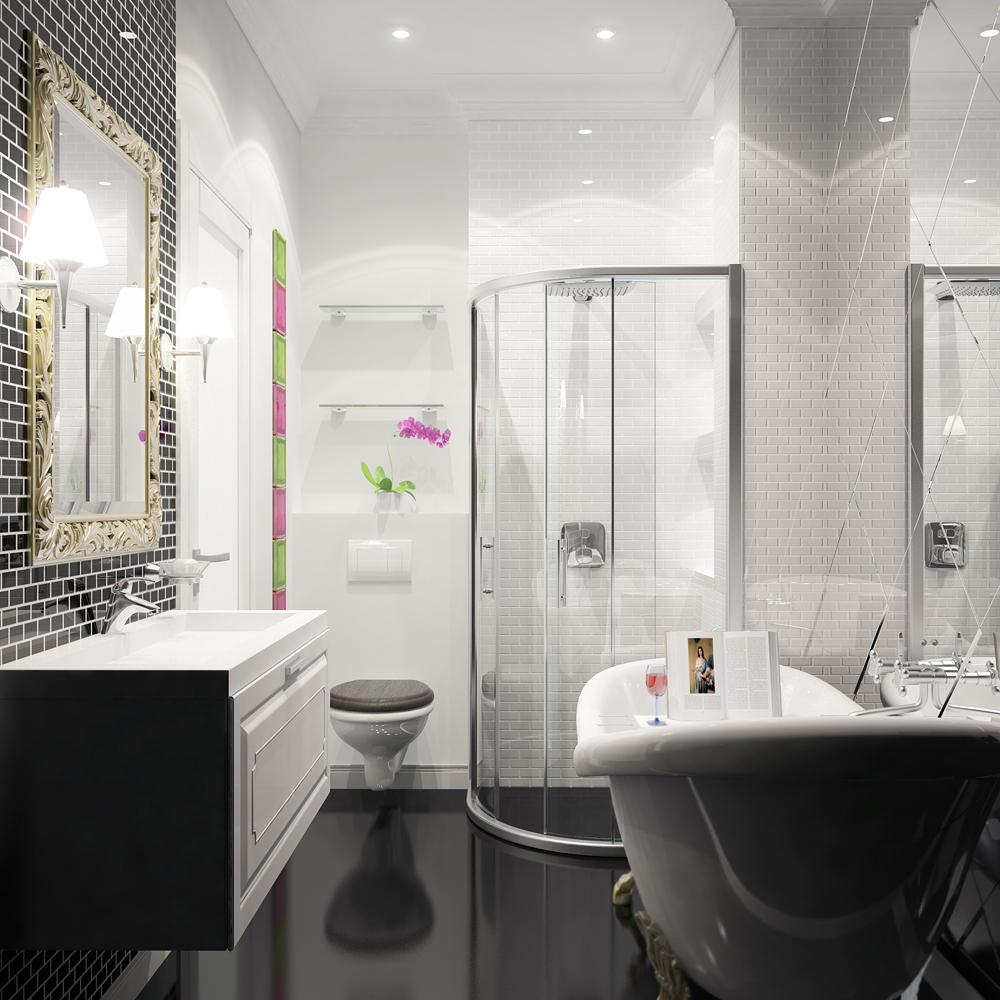 Скрытая вытяжка в ванной