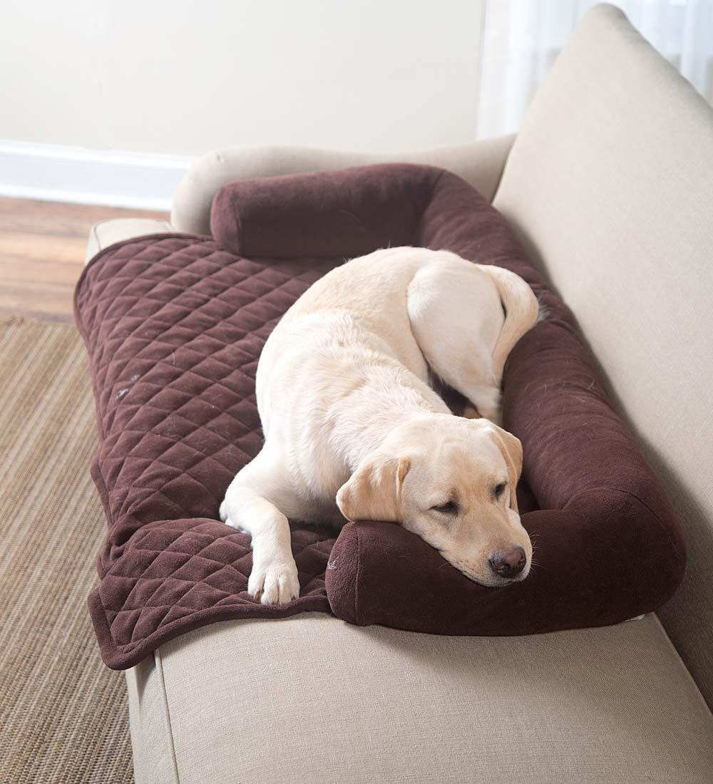 Подушка-валик для собаки