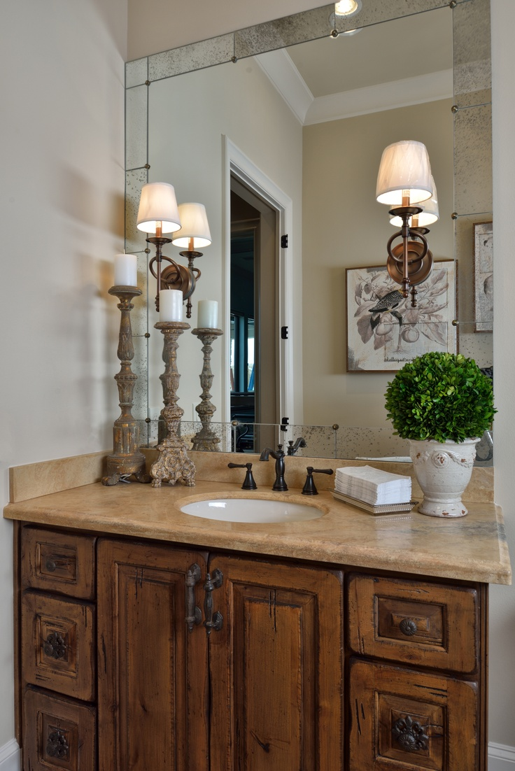 Состаренная мебель в тосканском стиле