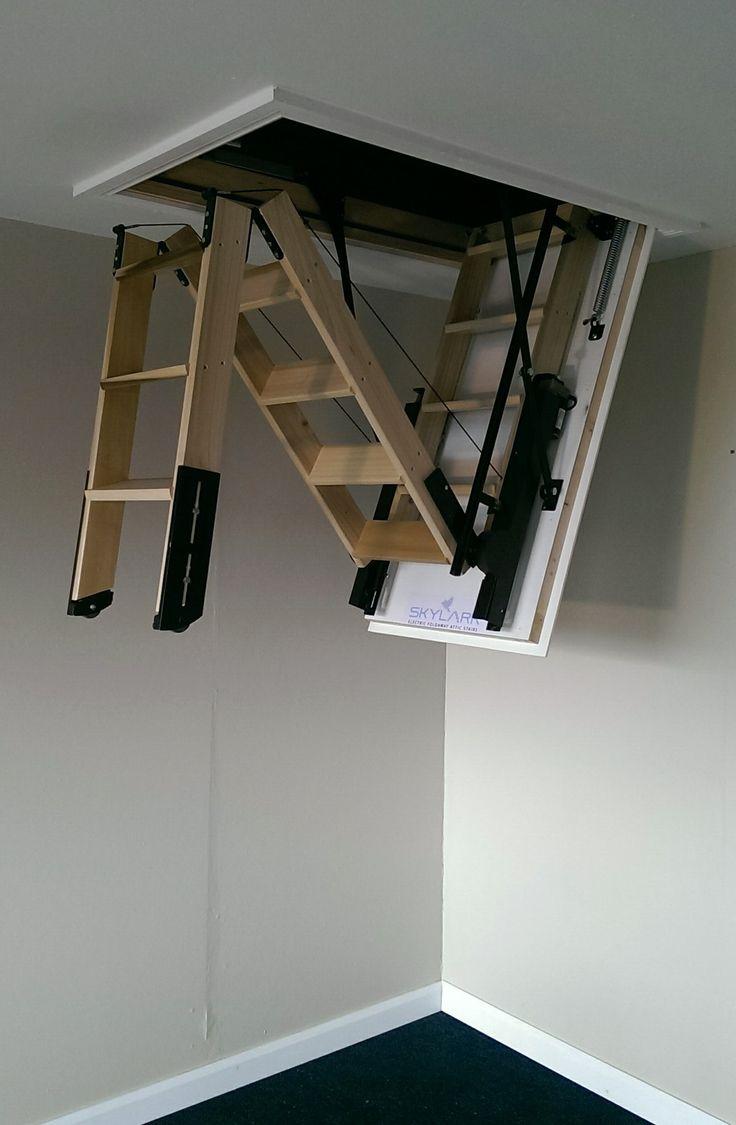 Составная лестница на чердак