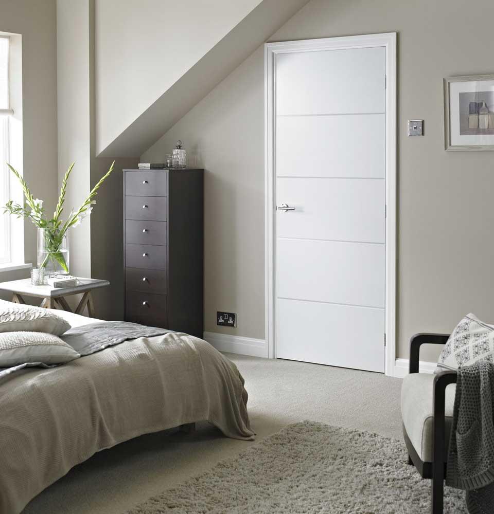 Дверь CPL в спальне