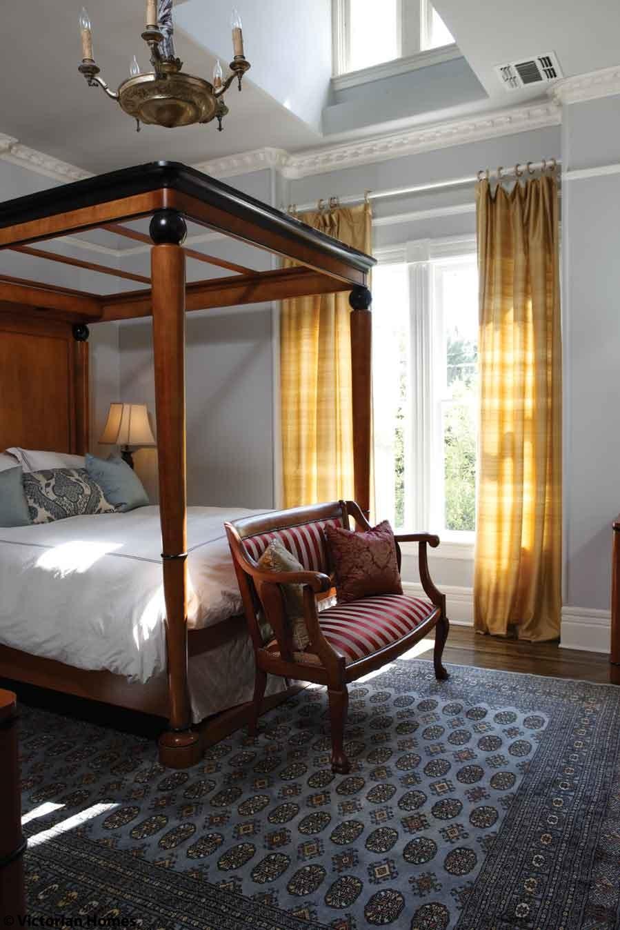 Интерьер спальни в стиле бидермейер