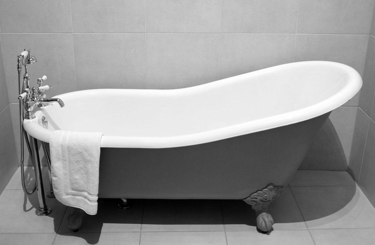 Реставрация старинной ванны