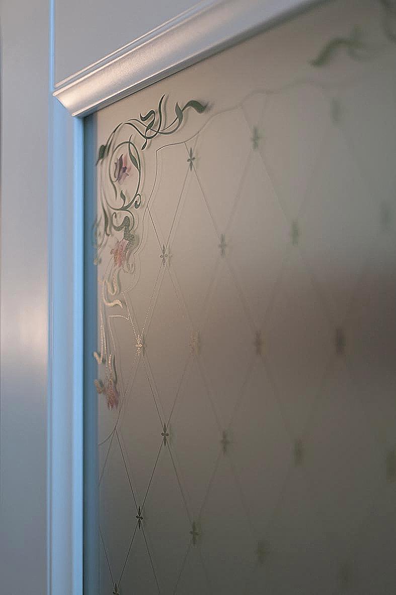 Дверь CPL со стеклом