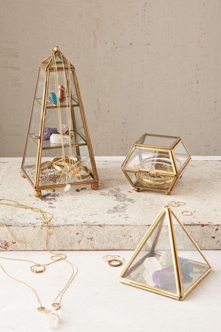 Шкатулка для украшений из стекла