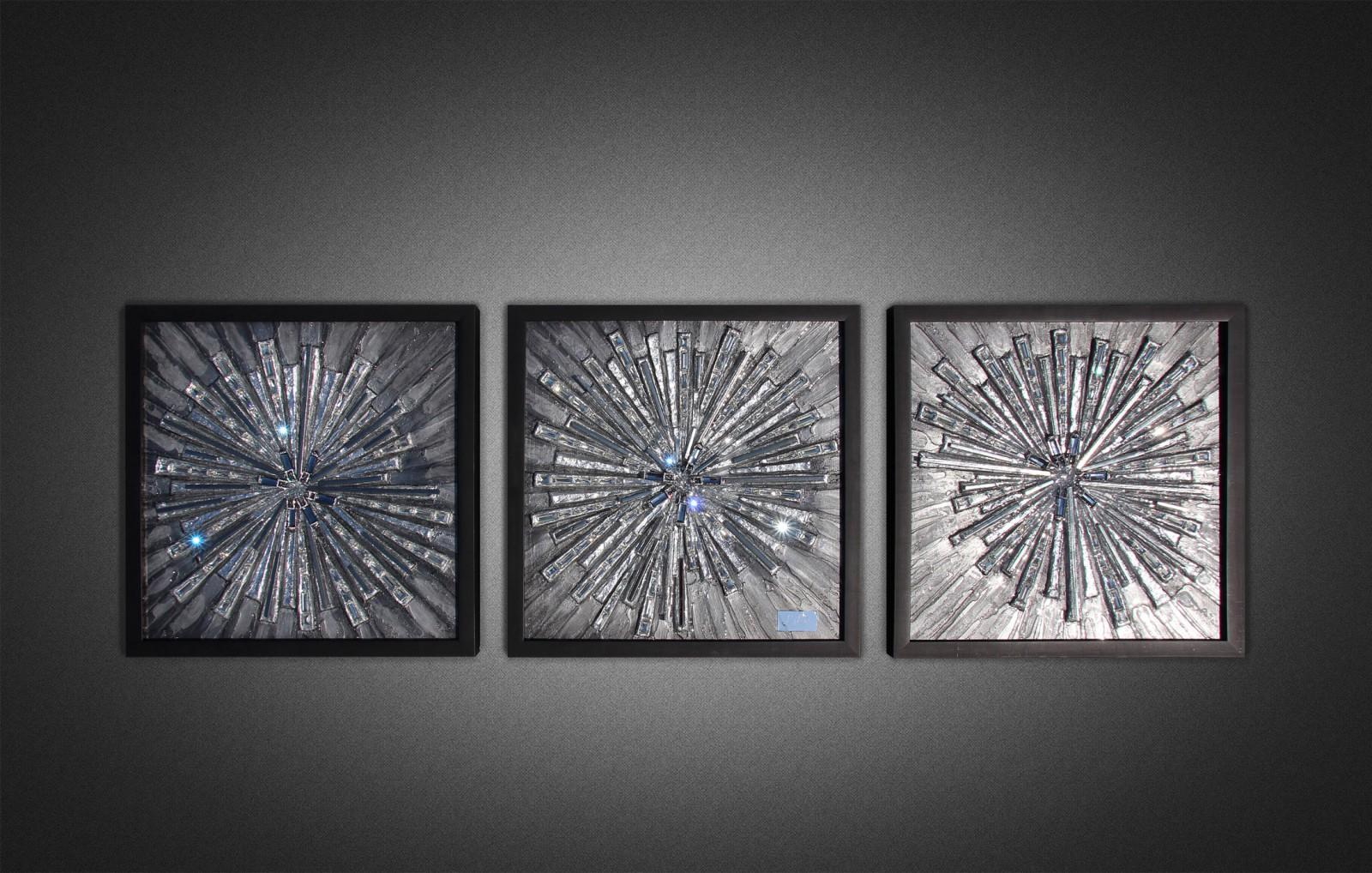 Объемная картина со стеклом