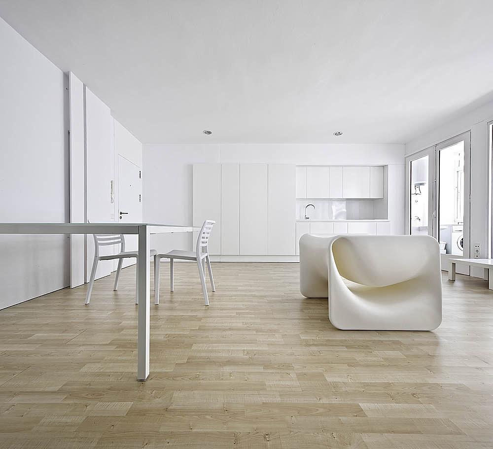 Конструктивизм в интерьере квартиры-студии