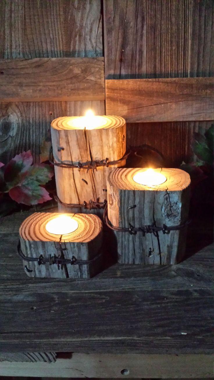 Декор свечей проволокой