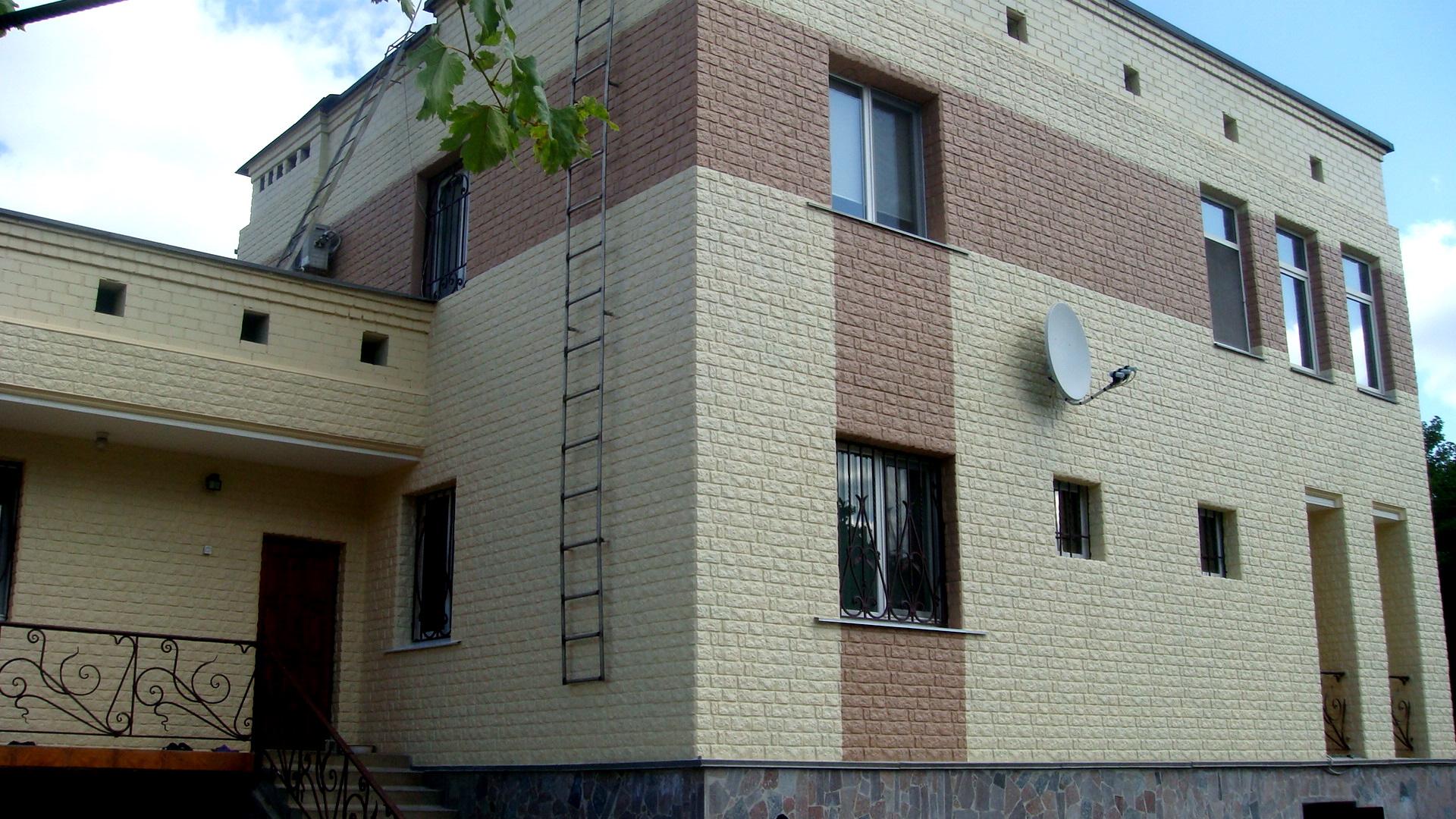 Фасадные панели под кирпич с утеплителем