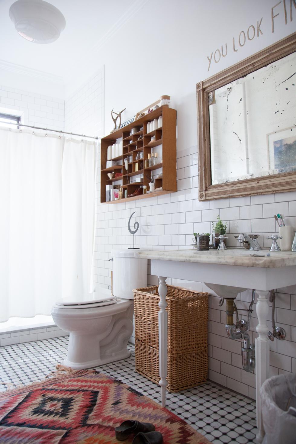 Килим в ванной