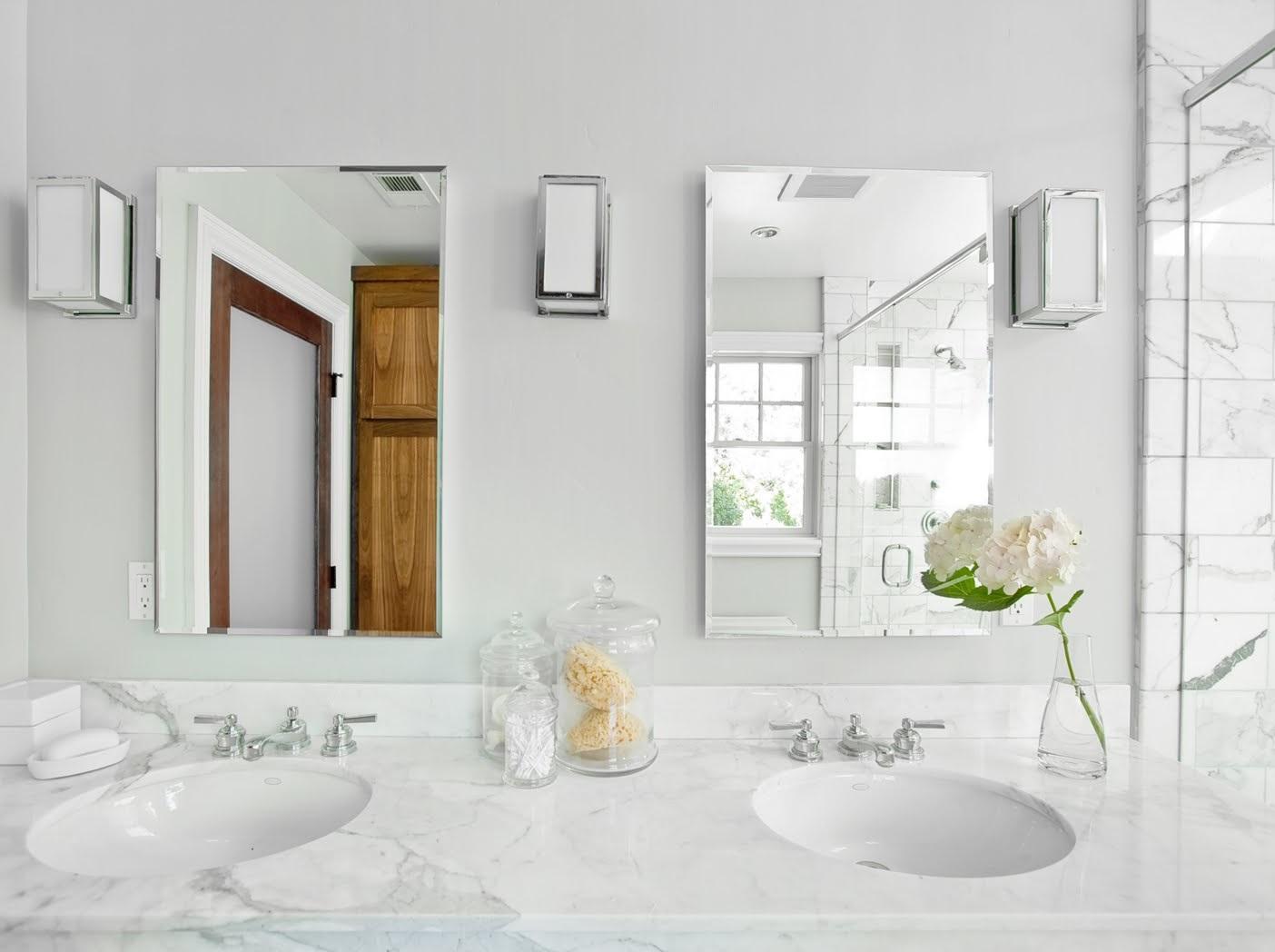 Мрамор в ванной