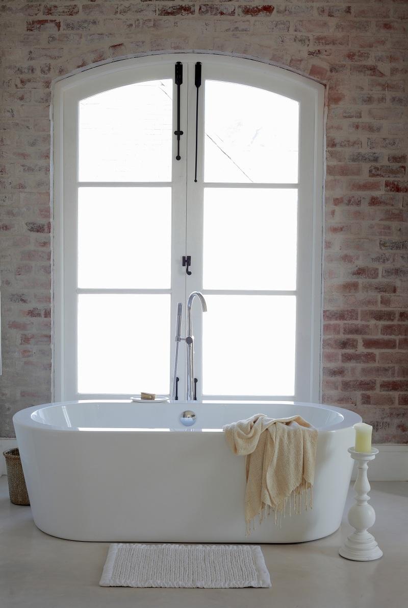 Ванная в тосканском стиле