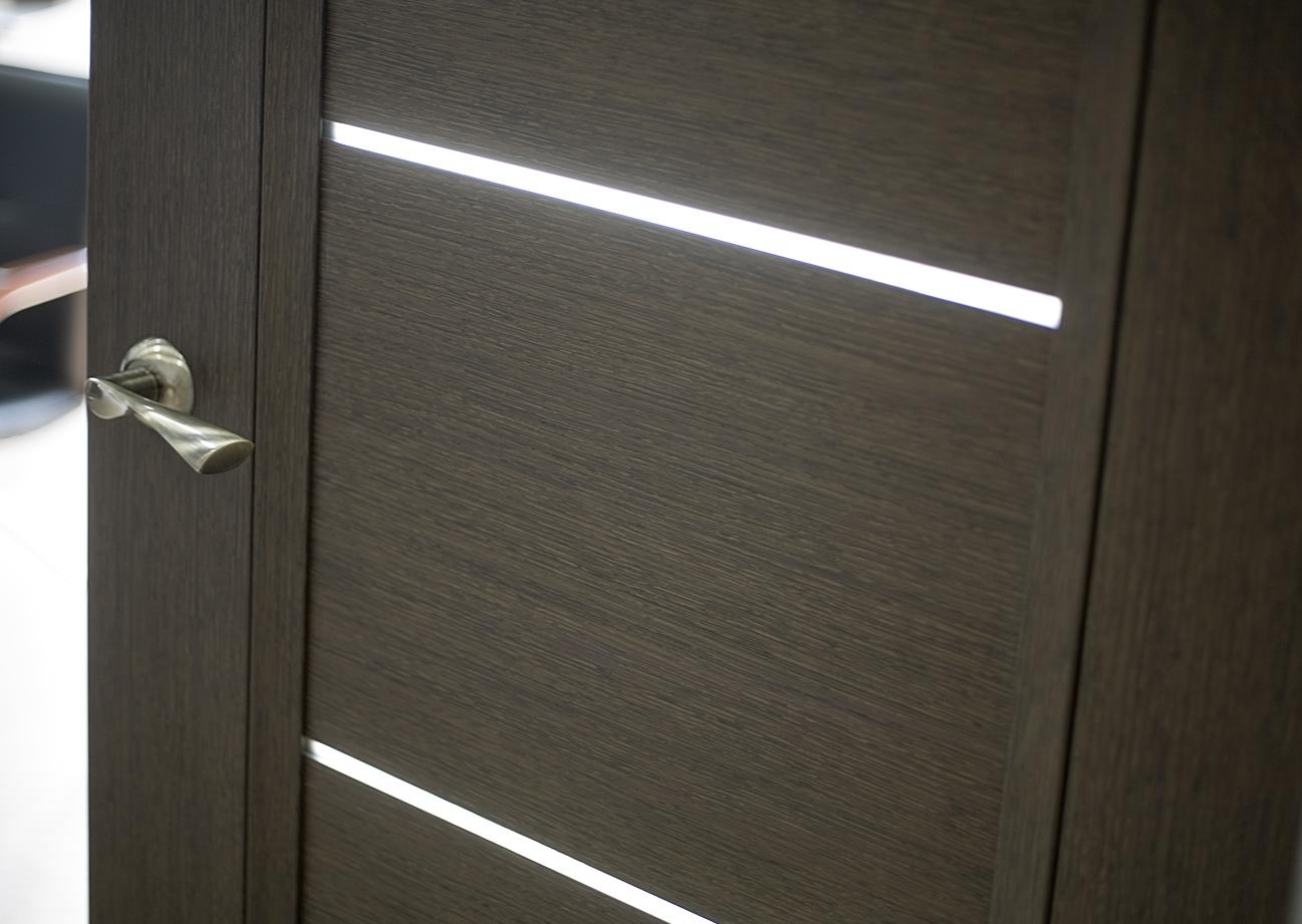 Дверь CPL цвета венге