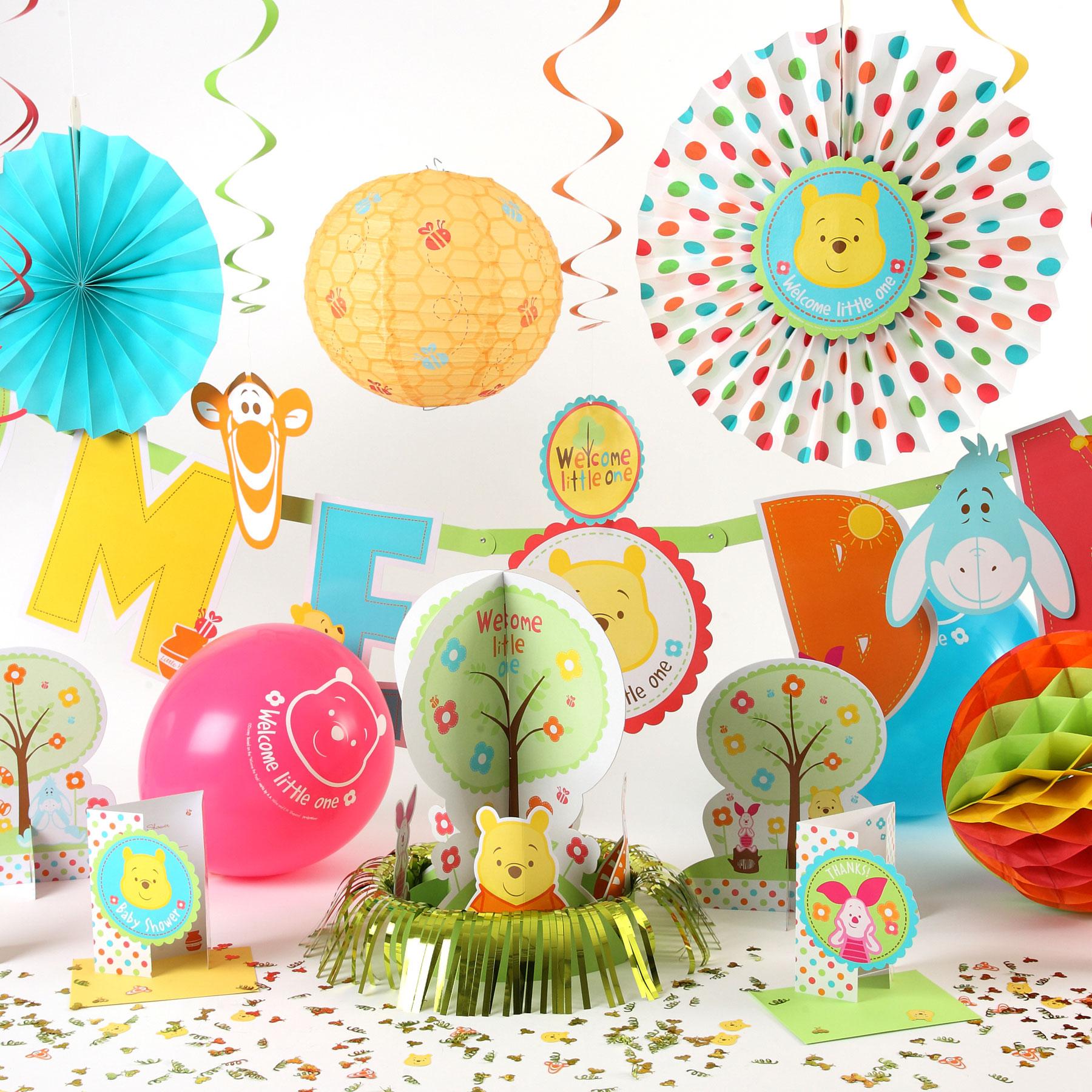 Оформление детского праздника в тематике Винни-Пуха