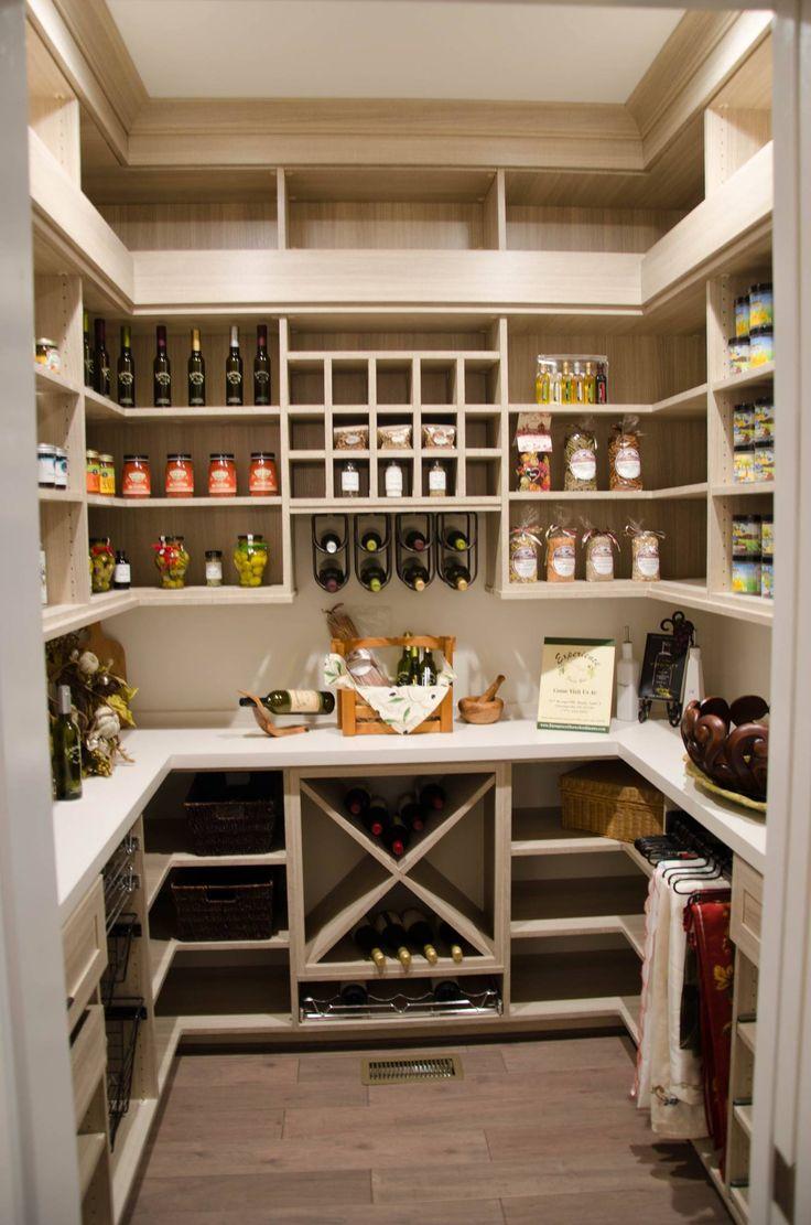 Дизайн кладовки для вина