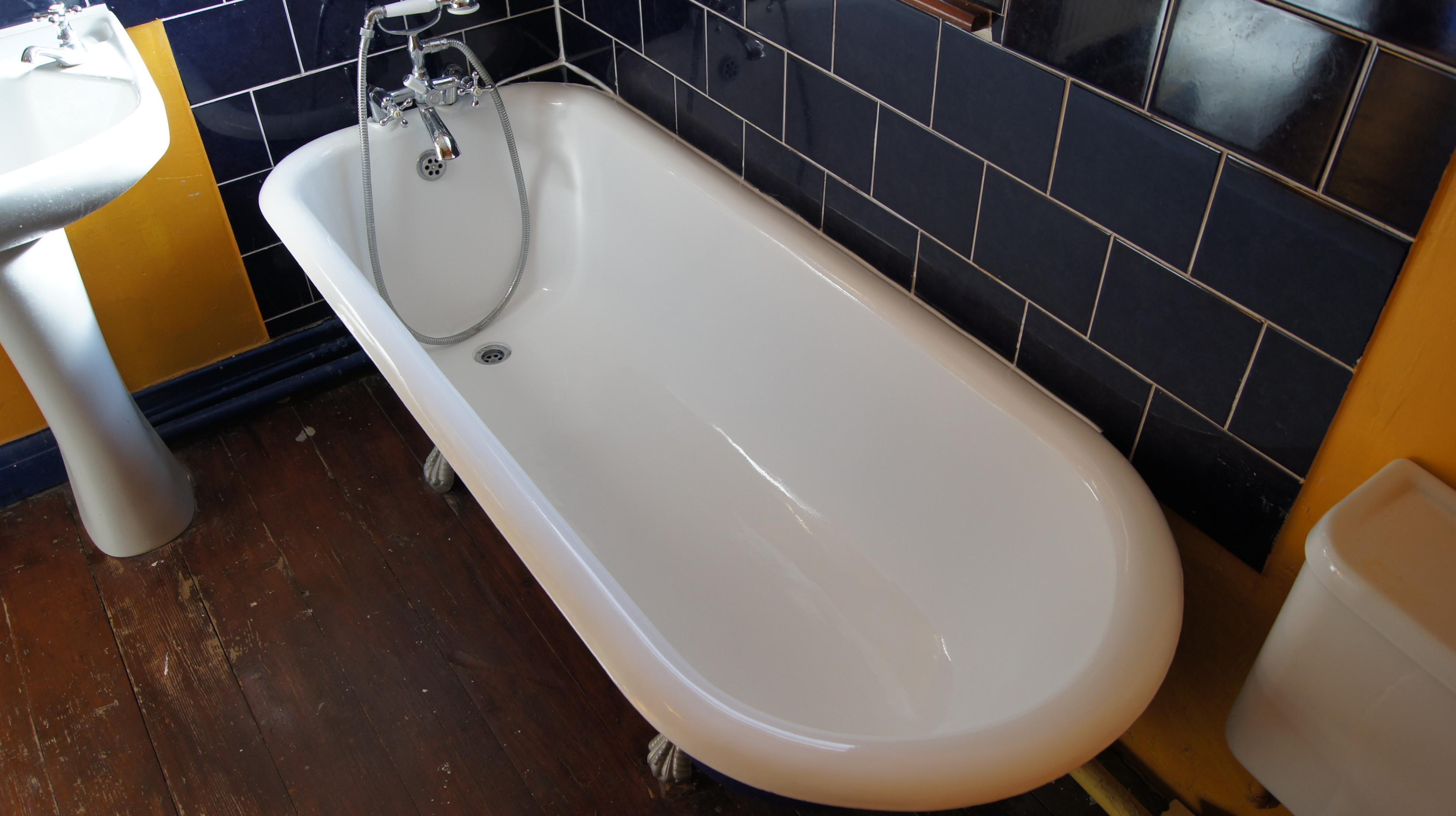 Реставрация винтажной ванны