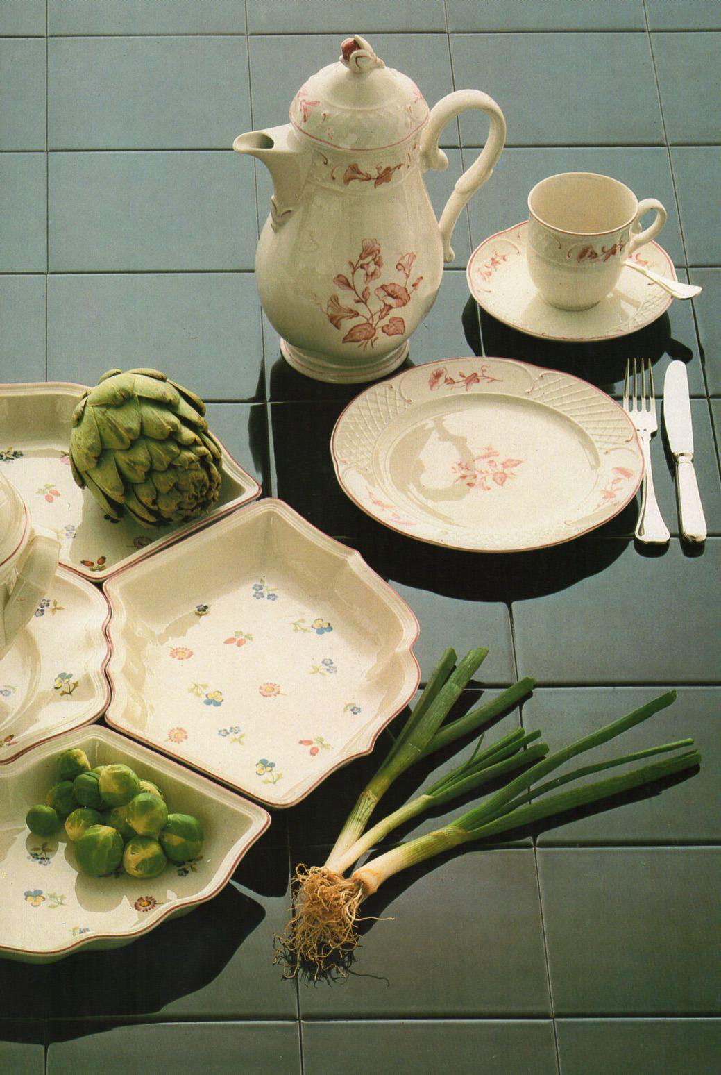 Винтажная фарфоровая посуда