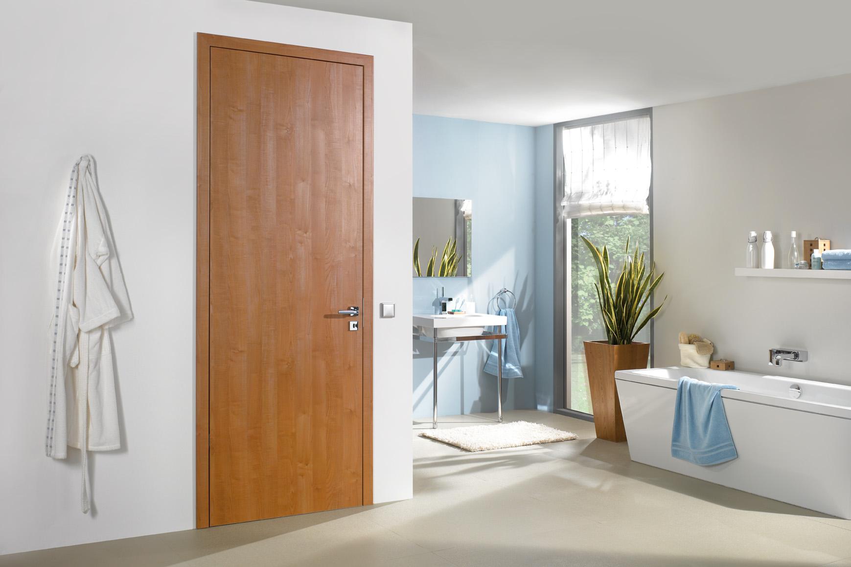 Дверь CPL цвета вишни