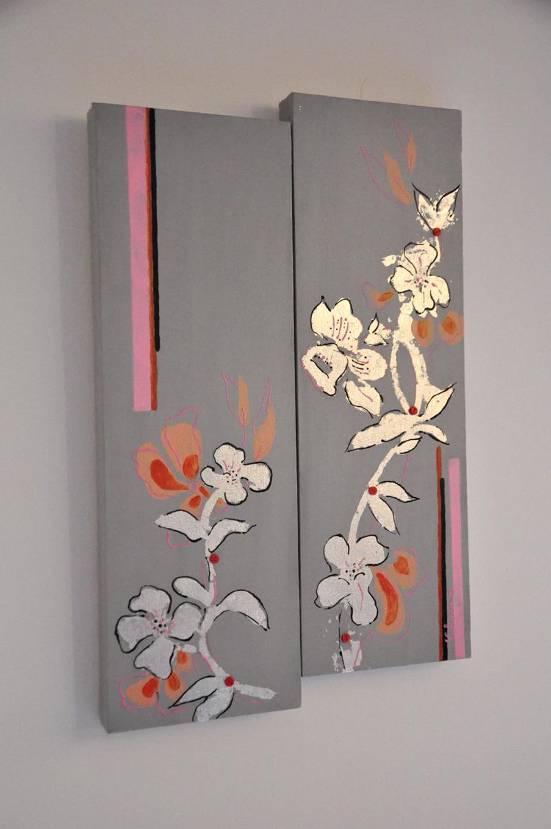 Объемная картина в японском стиле