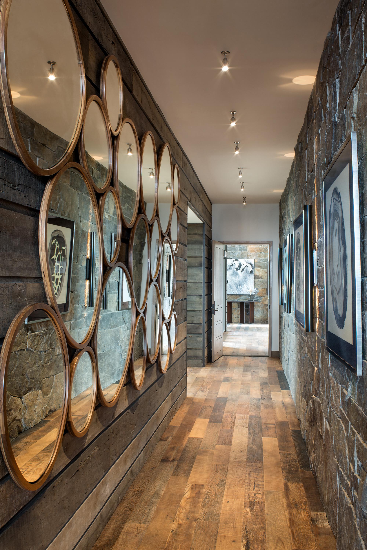 Стеновые панели для коридора зеркальные