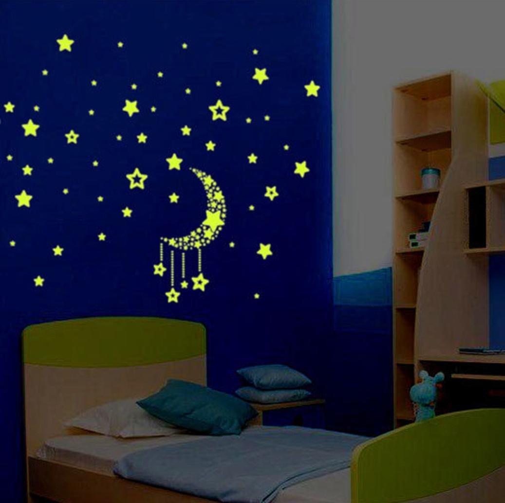Обои со светящимися звездами