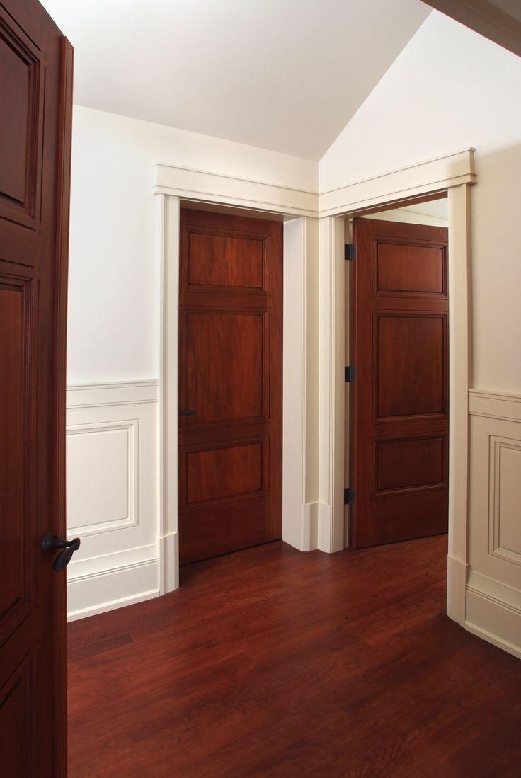 Двери из американской вишни