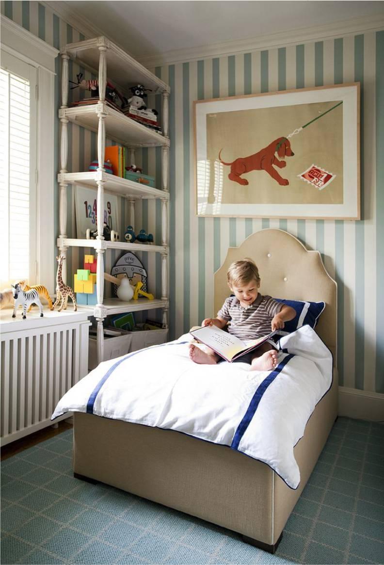 Кровать для мальчика в английском стиле