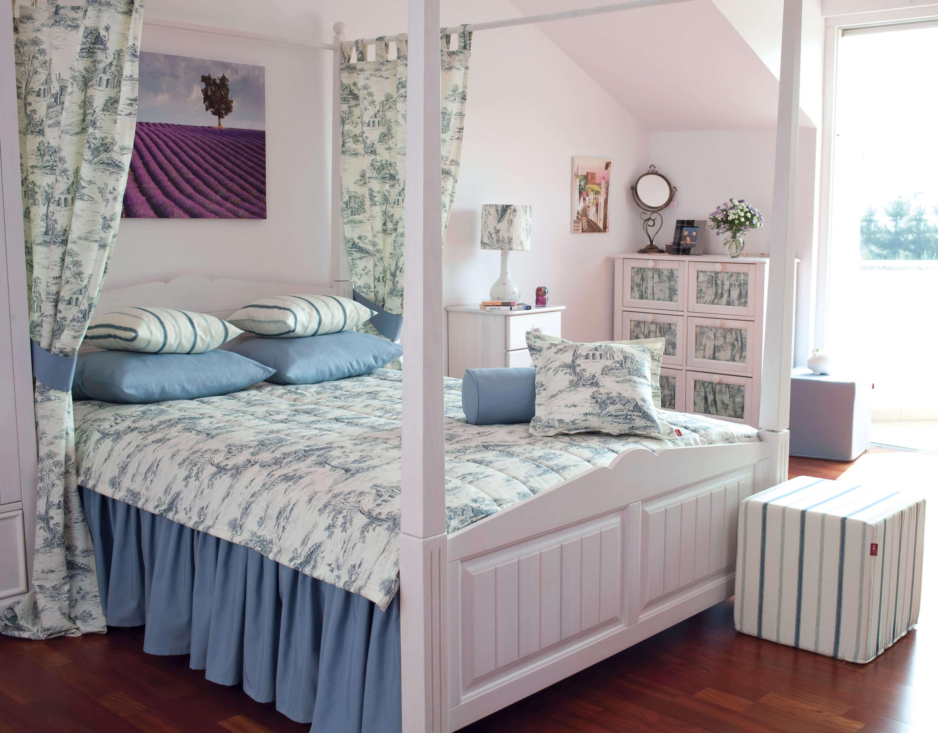 Покрывало для кровати с балдахином