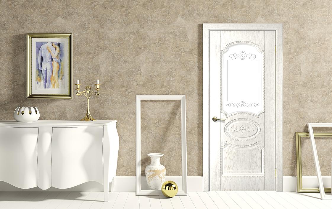 Белая дверь 3D