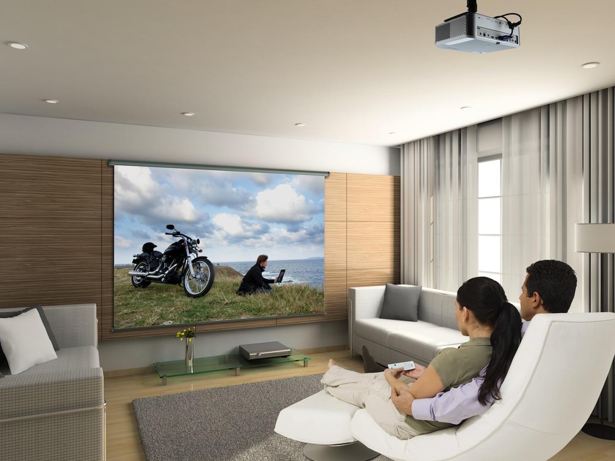 Бесшумный проектор для дома