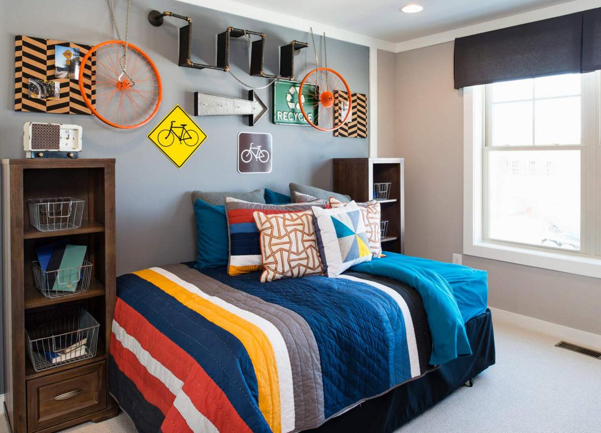 Кровать для мальчика без изголовья