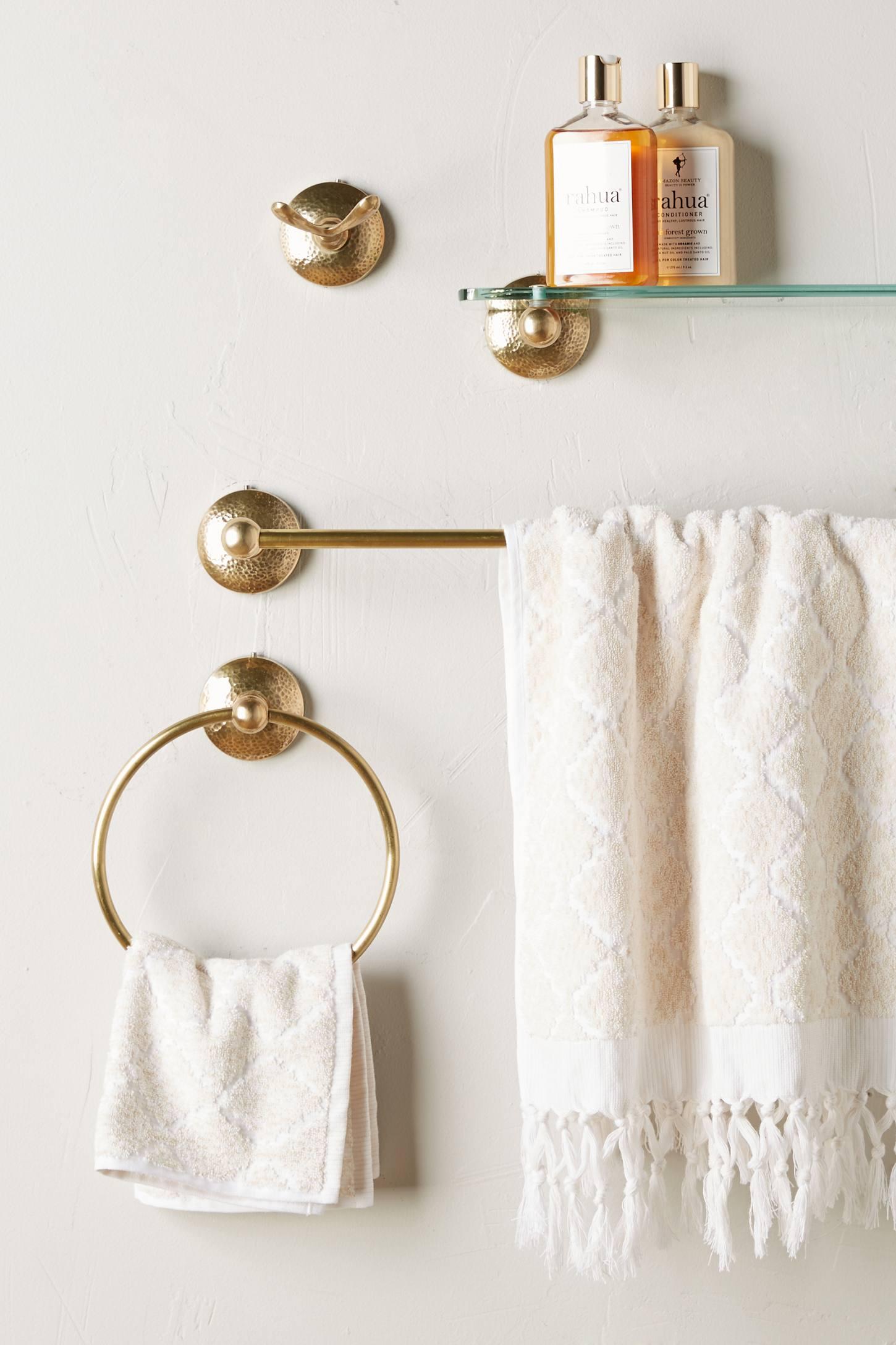 Крючок для ванной из бронзы