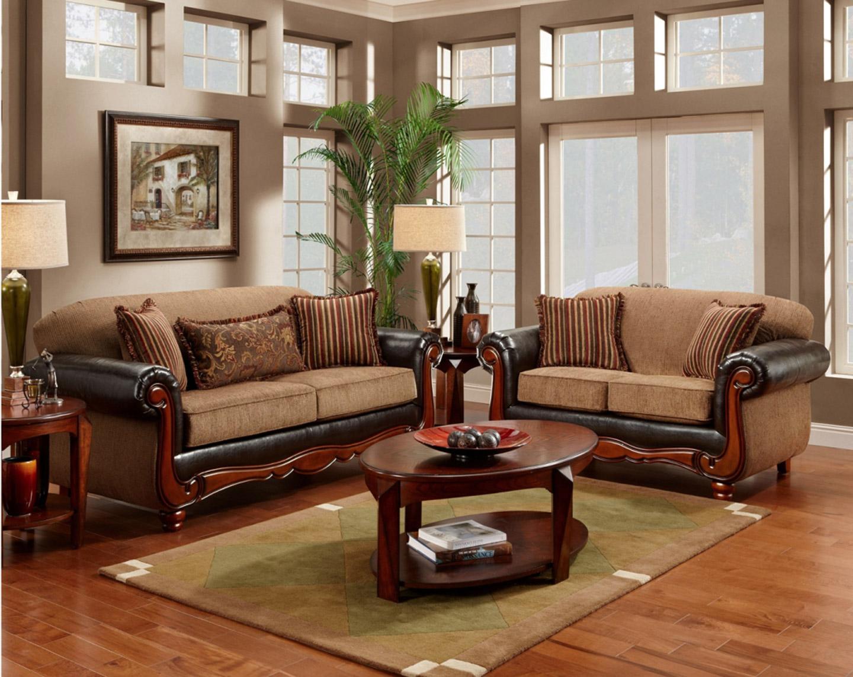 Деревянный диван в классическом стиле