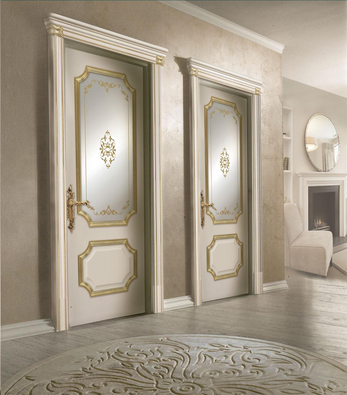 Классическая дверь из ясеня