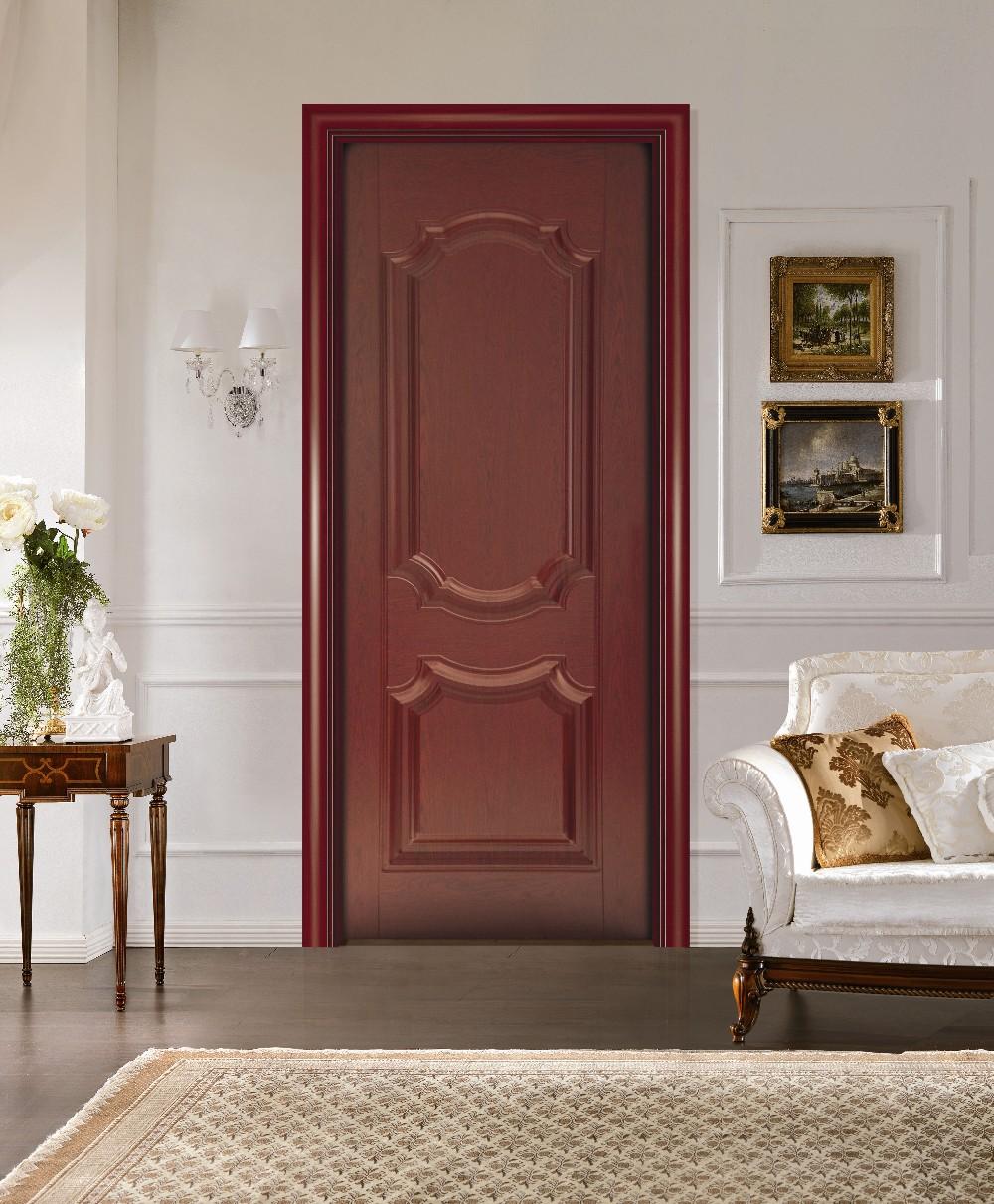 Дверь из вишни в классическом стиле