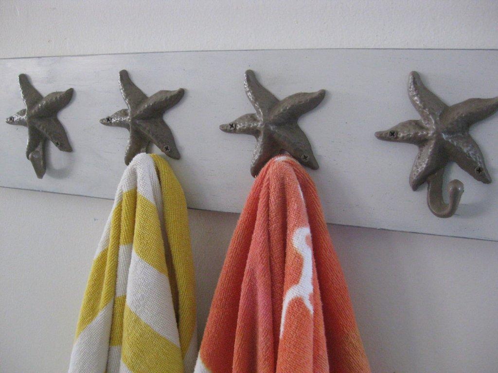 Декоративные крючки для ванной