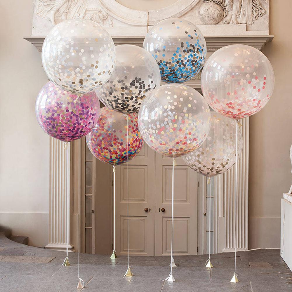 Декор из воздушных шаров