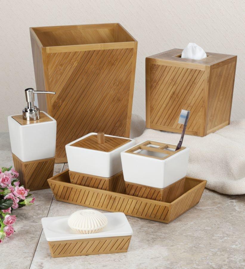 Деревянная мыльница для ванной