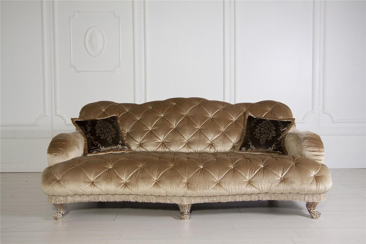 Дизайнерский велюровый диван