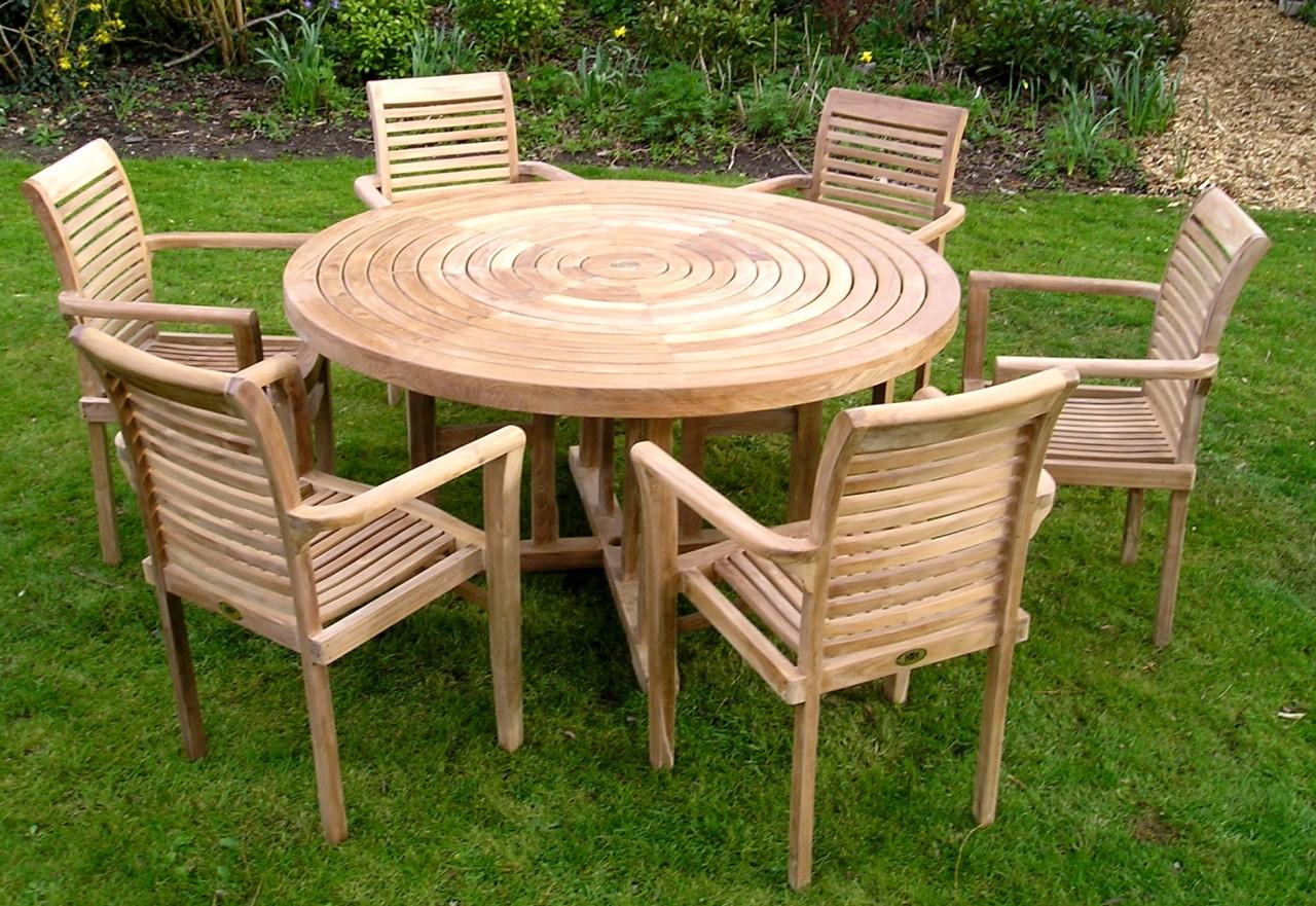 Стол для дачи из досок