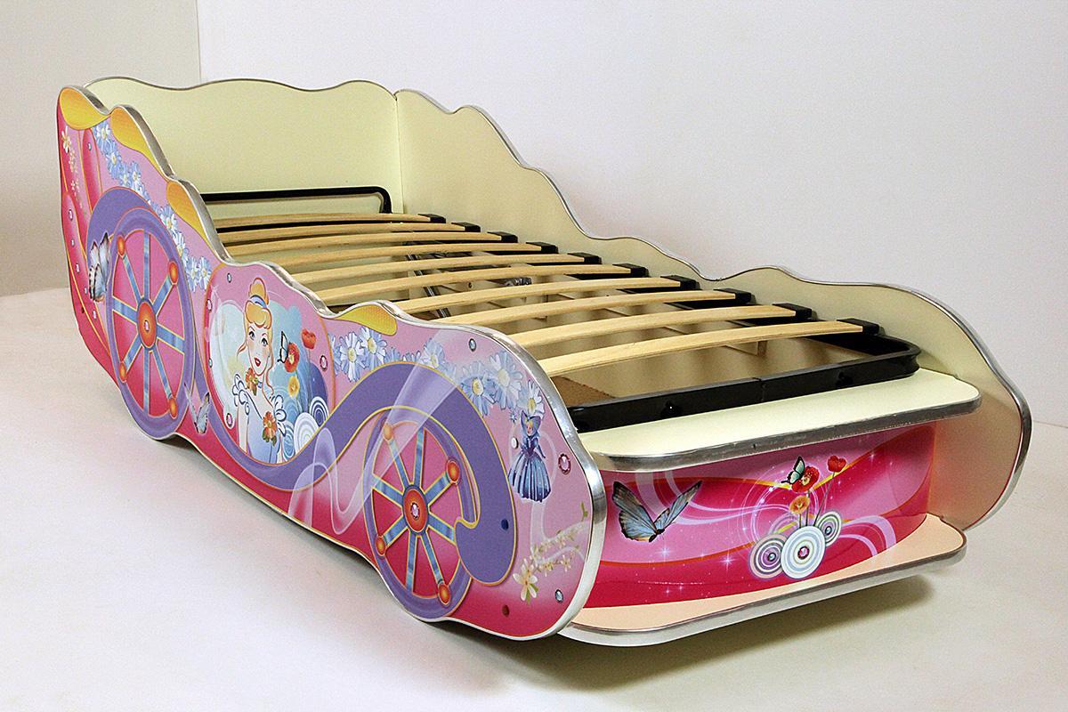 Кровать-карета из ДСП