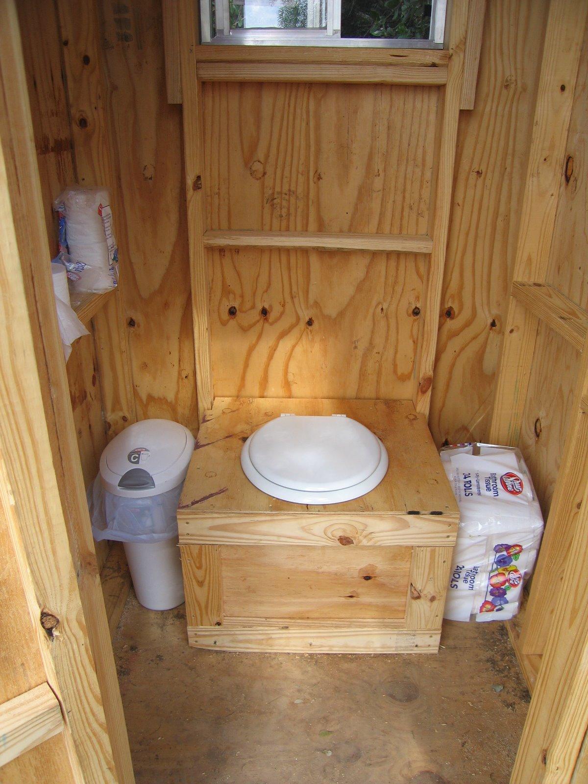 Торфяной экологичный туалет
