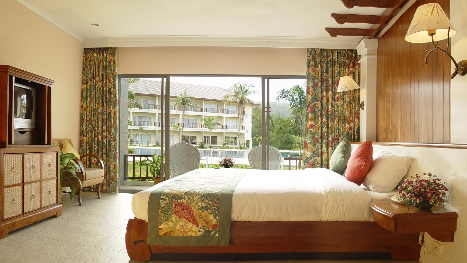 Уютная спальня в стиле эко